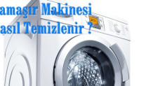 Çamaşır Makinesi Nasıl Temizlenir
