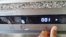 Bulaşık makinesi tuşları çalışmıyor